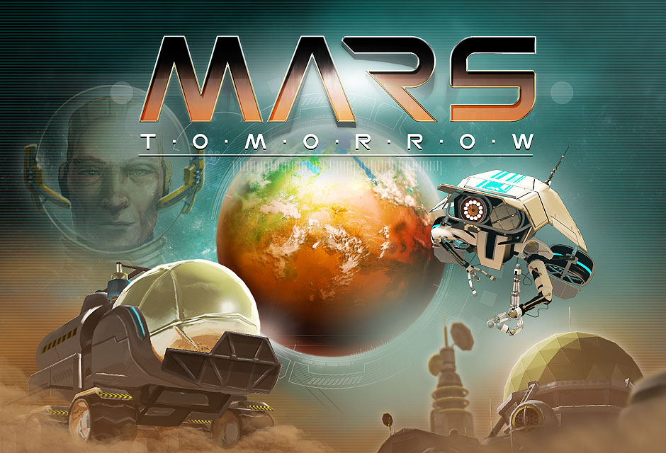 Mars Tomorrow by gamefab